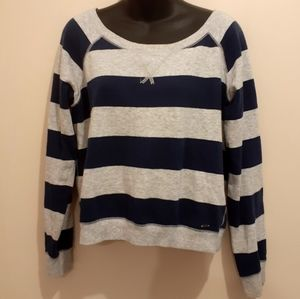$5 Add-on Garage Striped Sweater Size L